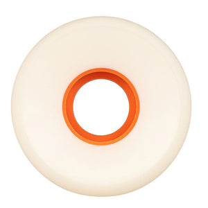 OJ 56mm Plain Jain Keyframe 87a Wheels - White/Orange