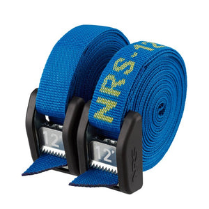"NRS 1"" Roof Rack Tie Down Straps - 12' Iconic Blue"