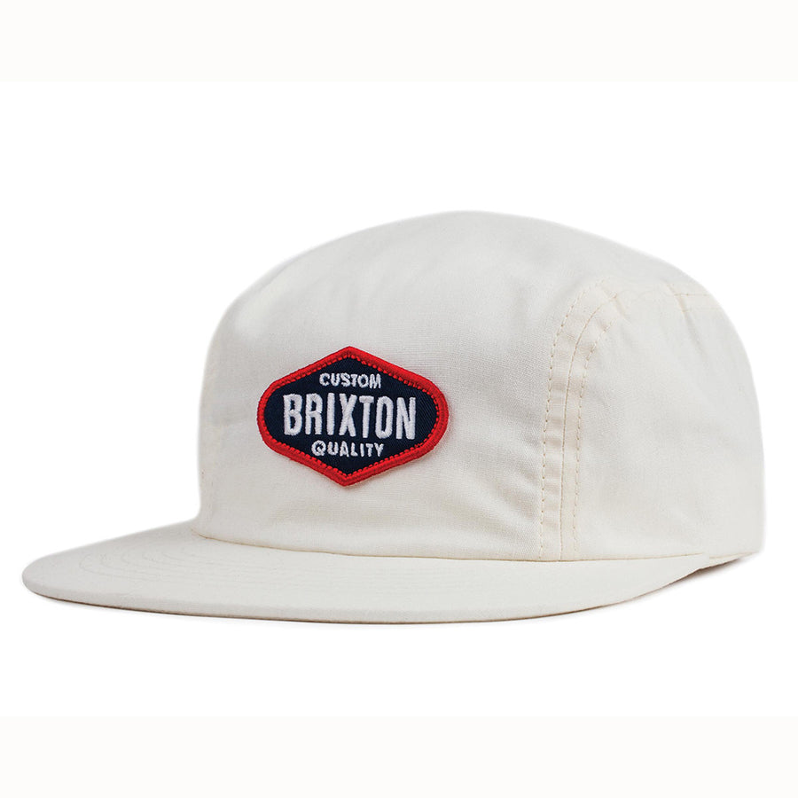 Brixton Oakland Snapback Cap - Off White-Brixton-Seaside Surf Shop