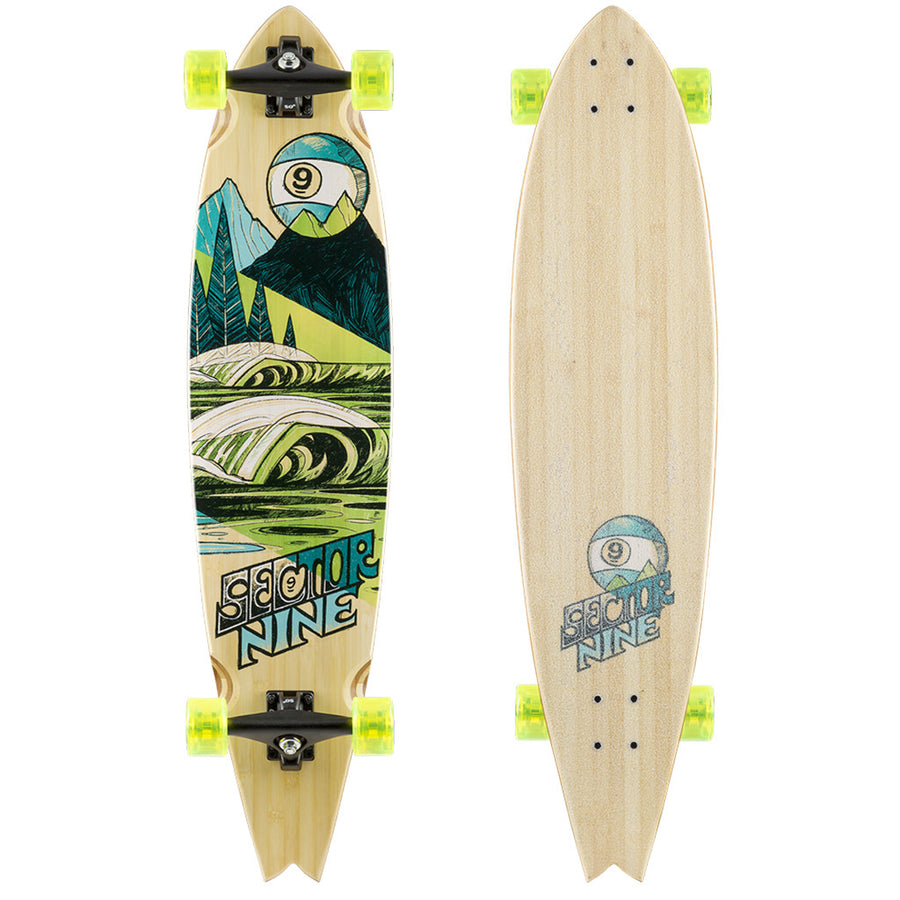 "'-Skate-Sector 9 Offshore Complete - 39.5""-Sector 9-Seaside Surf Shop"