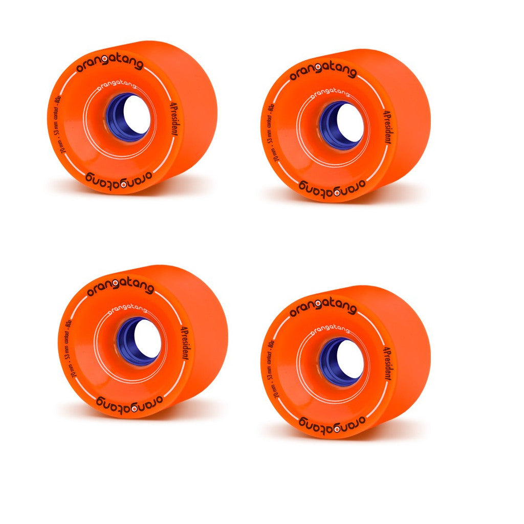 Orangatang 70mm 4President Wheels - Seaside Surf Shop