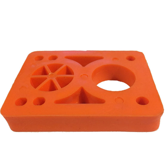 -Skate-Vision 1/2 Inch Skateboard Risers - Orange-Vision-Seaside Surf Shop