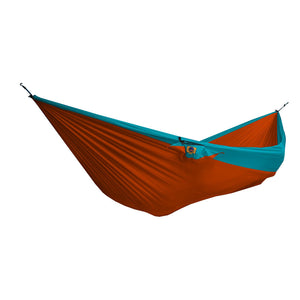 Ticket to the Moon Double Hammock - Orange/Turqoise-Ticket to the Moon-Seaside Surf Shop