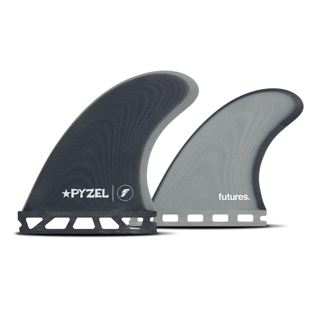 Futures Fins - Pyzel Padillac Quad Fin Set - Blue Grey - Seaside Surf Shop