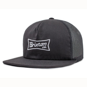 Brixton Pearson Mesh Cap - Black-Brixton-Seaside Surf Shop