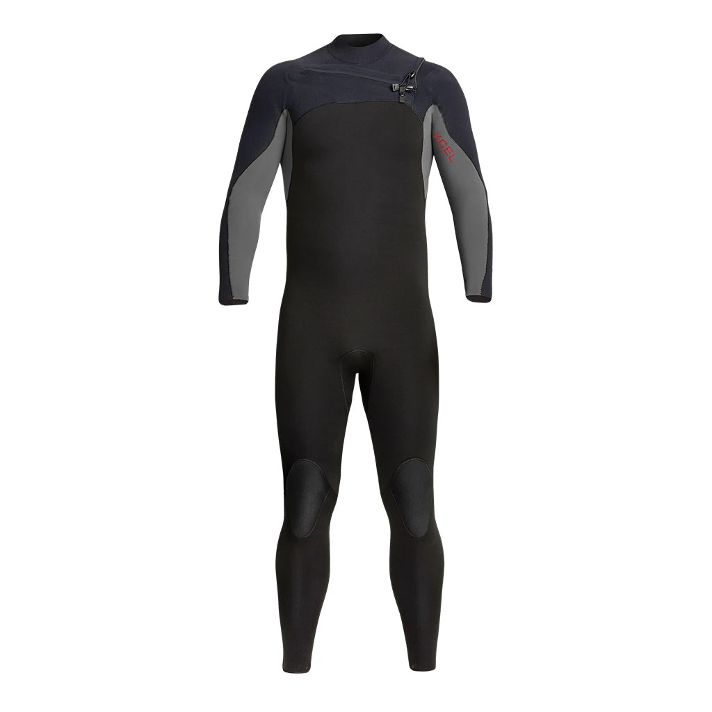Xcel Phoenix Men's 4/3mm Hooded Wetsuit - Black/Graphite - Seaside Surf Shop