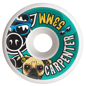Pig Wheels Blake Carpenter Conical 53mm / 101A-Pig Wheels-Seaside Surf Shop