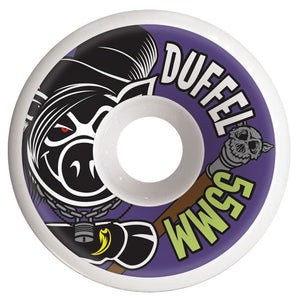 Pig Wheels Corey Duffel Conical 55mm / 101A-Pig Wheels-Seaside Surf Shop