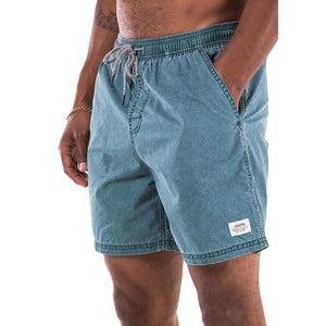 Katin Poolside Volley Trunks - Light Blue