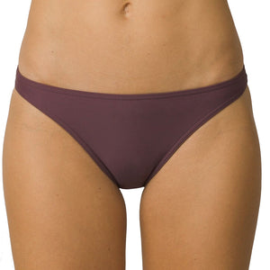 Prana Womens Kala Bottom - Thistle, Swimwear, Prana, Womens Bikini Bottoms, THE KALA BOTTOM IS A CHEEKY BIKINI BOTTOM WITH A LOW RISE, STANDARD LEG CUT, AND SKIMPY FIT.PRODUCT DETAILSCheeky briefFit lends support for athletic performanceLow riseNew leg cut has sleek flattering linesCheeky seat coverageImportedFABRIC DETAILS80% Nylon / 20% SpandexCarmine Desert Geo, Carmine Pink Safari, and Seaside Safari print: 78% Recycled Polyester/ 22% LYCRA ® XTRA LIFE ELASTANE