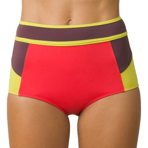 Prana Womens Adisa Bottom - Carmine Color Block-Prana-Seaside Surf Shop