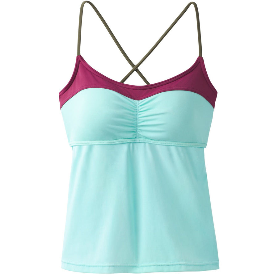 Prana Womens Makoa Tankini - Succulent Green-Prana-Seaside Surf Shop