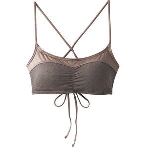 Prana Womens Makoa Top - Muted Truffles