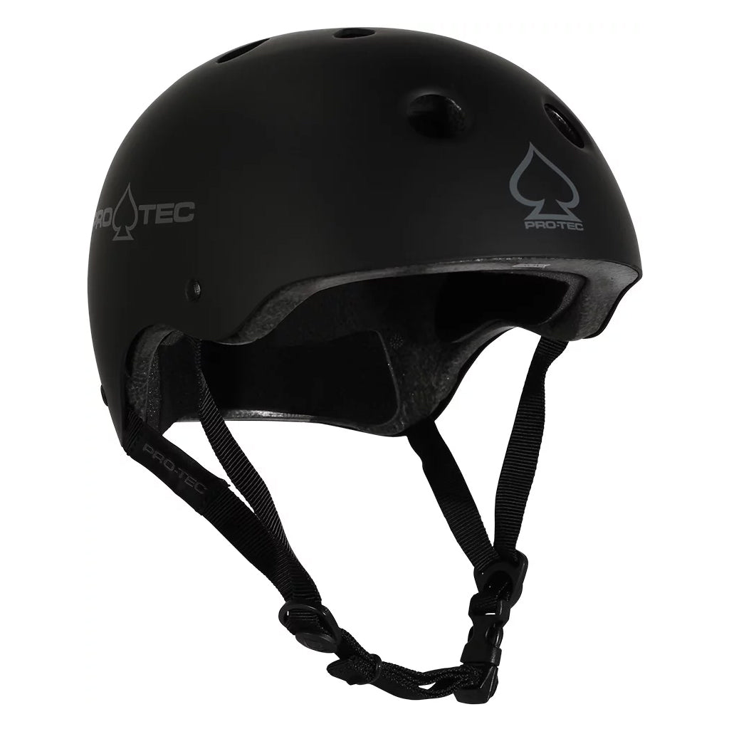 Pro Tec Classic Helmets - Black Matte - Seaside Surf Shop