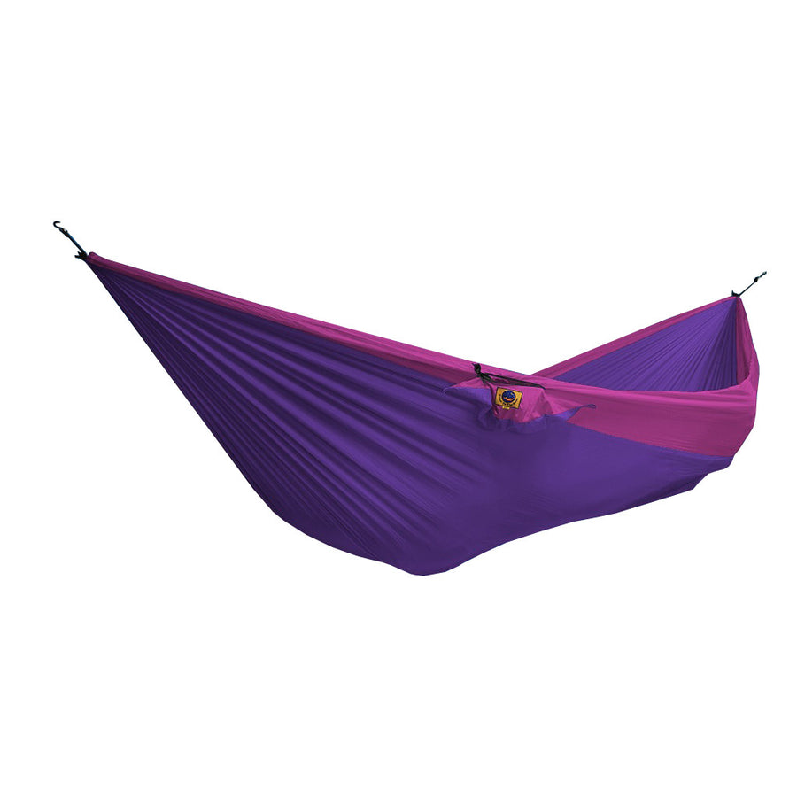 -Outdoor-Ticket to the Moon Double Hammock - Purple/Pink-Ticket to the Moon-Seaside Surf Shop