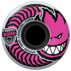 '-Skate-Spitfire 54mm Classic Push for Pink Wheels - Pink-Spitfire-Seaside Surf Shop