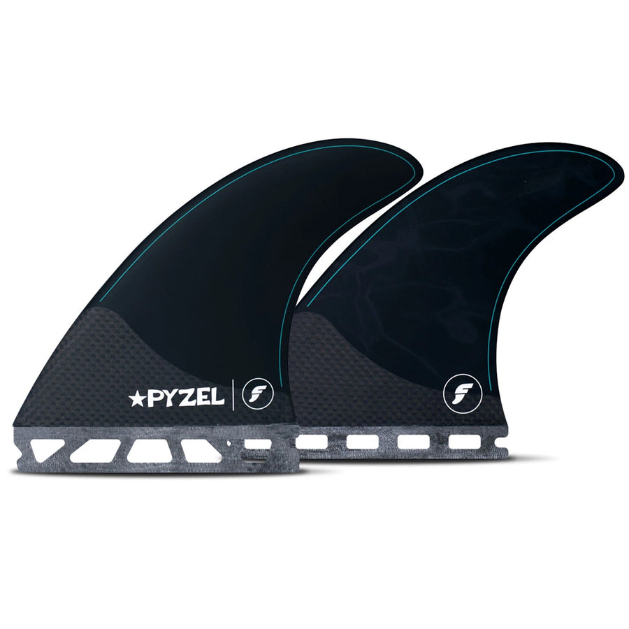 Futures Fins - Pyzel Medium Five Fin Set - Black