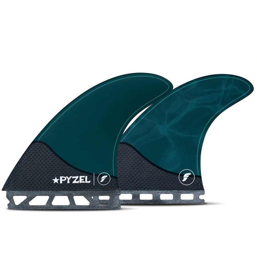 Futures Fins - Pyzel Large Five Fin= Set - Pacific Blue