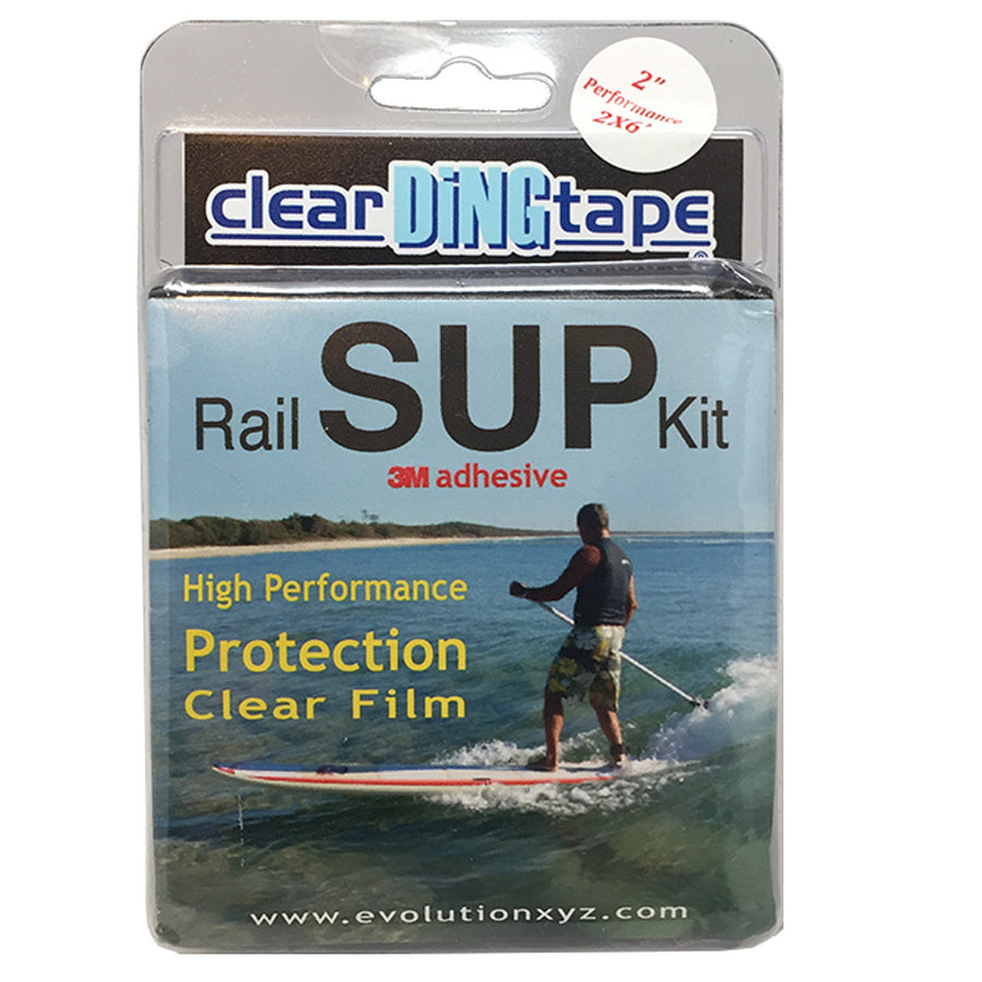'-Surf Accessories-Clear Ding Tape - SUP Rail Kit-Blocksurf-Seaside Surf Shop
