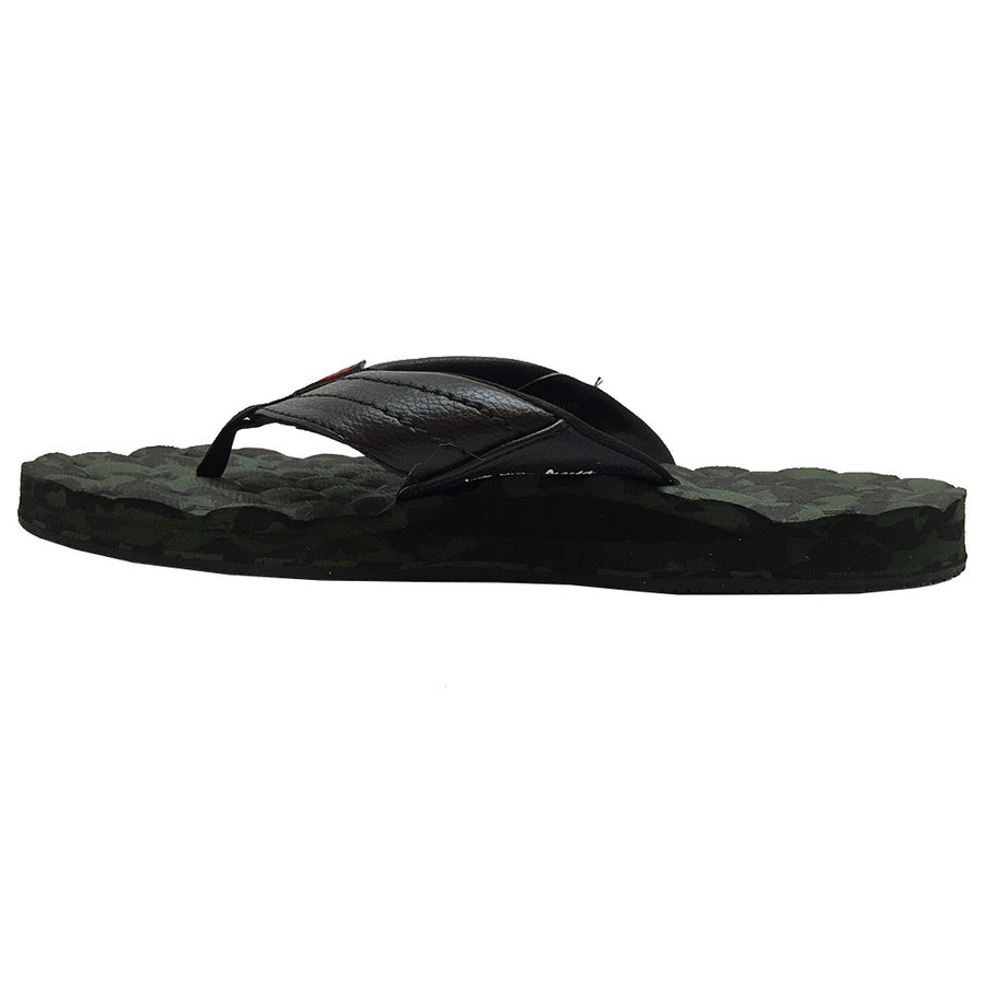 -Footwear-Rainbow Sandals Mens Holoholo - Black/Green Camo-Rainbow Sandals-Seaside Surf Shop