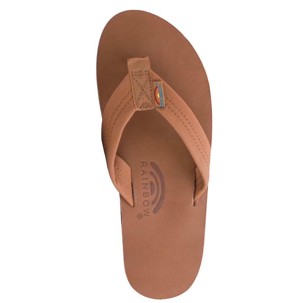 Rainbow Sandals Mens Classic Leather Double  - Tan/Brown - Seaside Surf Shop