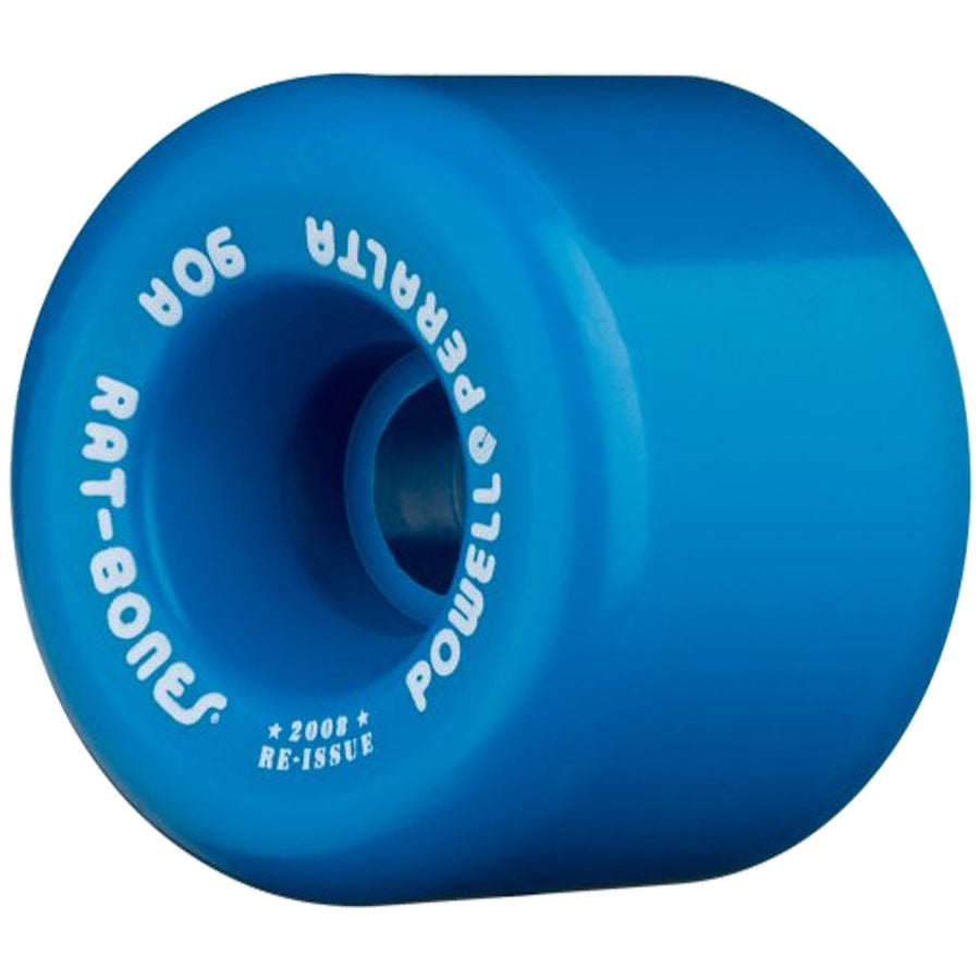 Powell Peralta 60mm Rat Bones 90a - Blue-Powell Peralta-Seaside Surf Shop