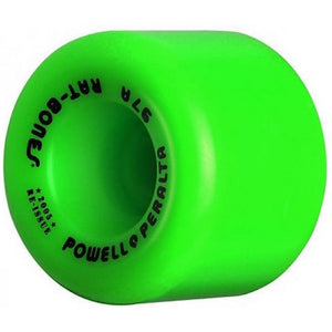Powell Peralta 60mm Rat Bones 90a - Green-Powell Peralta-Seaside Surf Shop