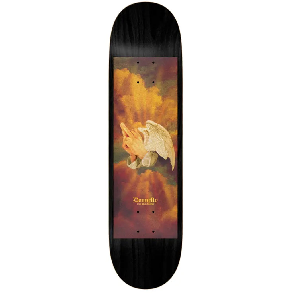 "Real Skateboards Praying Fingers 8.25"" Deck - Seaside Surf Shop"