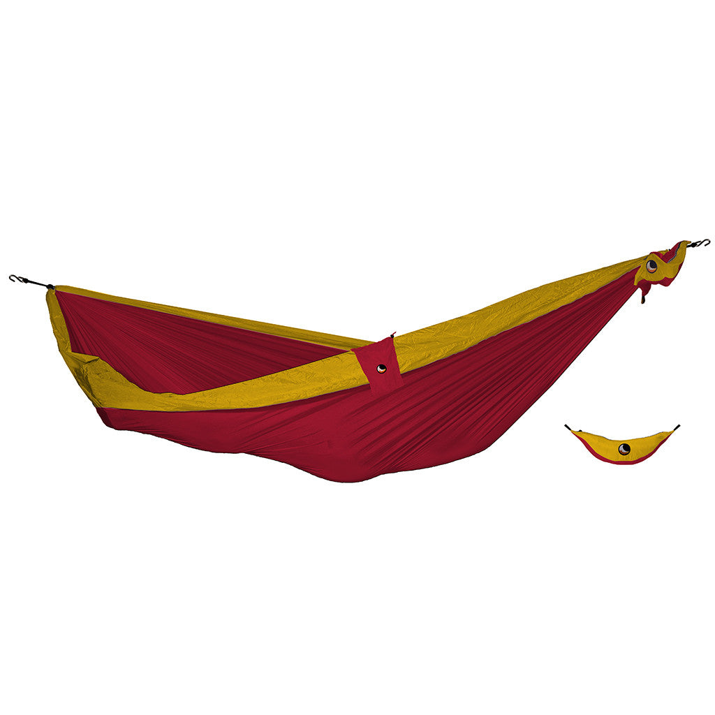 Ticket to the Moon Double Hammock - Red/Gold