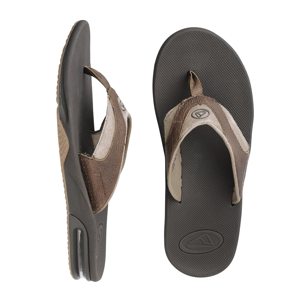 Reef Mens Leather Fannings - Seaside Surf Shop