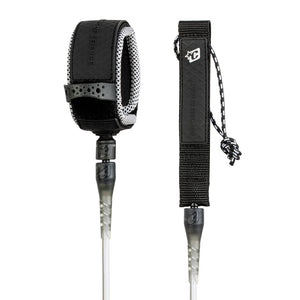 Creatures 8' Reliance Pro Leash - Clear/Black