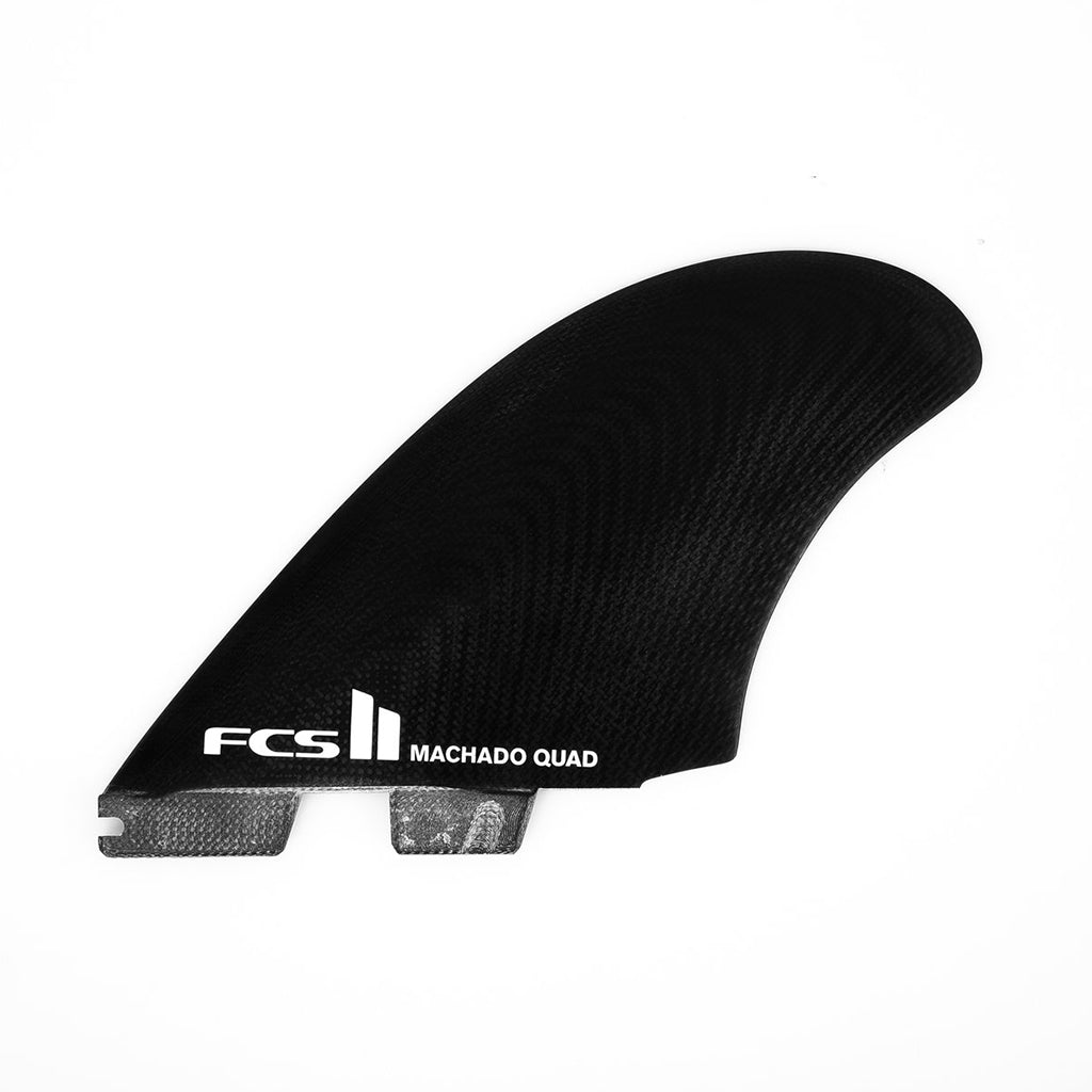 FCS II Machado PG Quad Fins - Black - Seaside Surf Shop