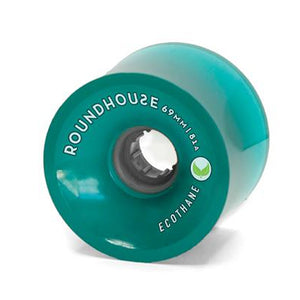 Carver Skateboards 69mm Roundhouse Concave Wheels - Aqua