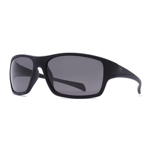 Rove Polarized Sunglasses - Stride - Matte Black/Smoke