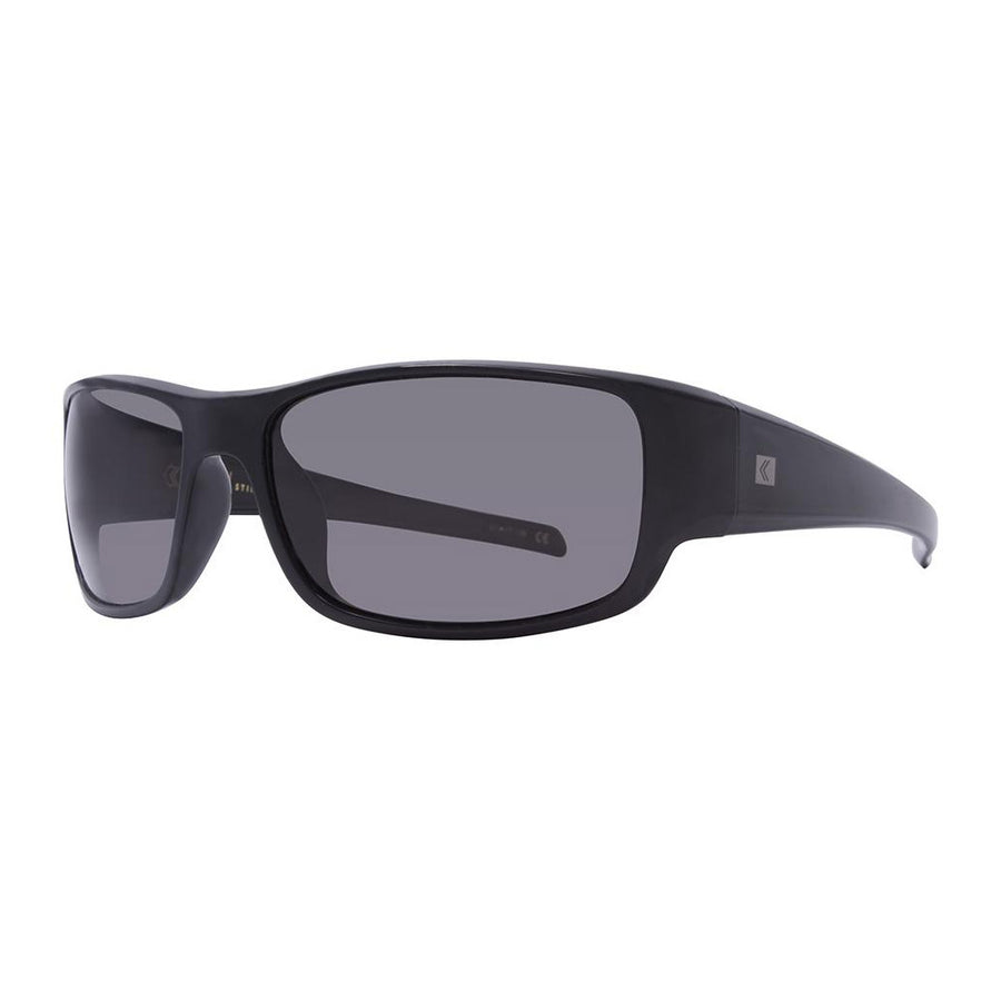 Rove Polarized Sunglasses - Stinger - Gloss Black/Smoke