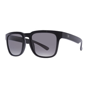 Rove Polarized Sunglasses - Midway - Gloss Black/Smoke