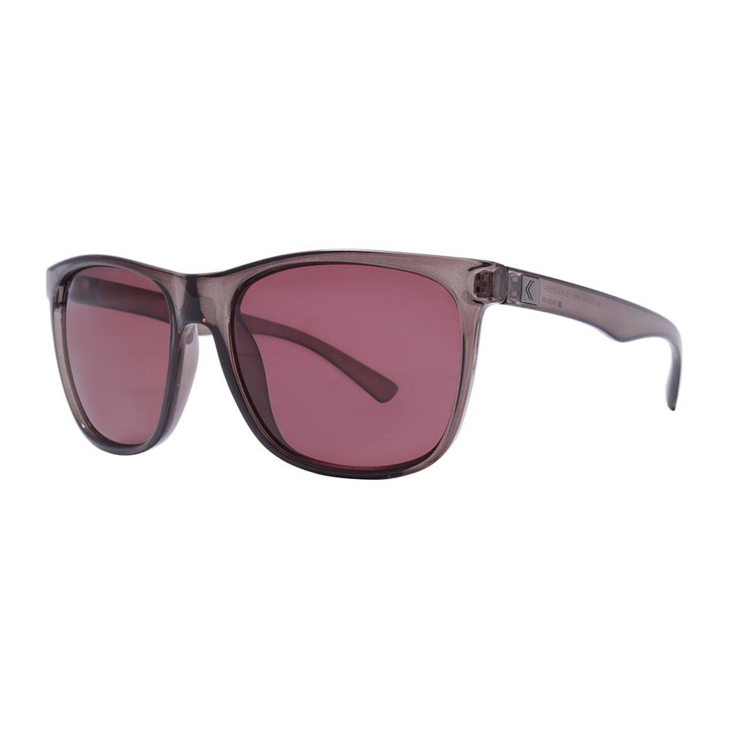 Rove Polarized Sunglasses - Strand - Matte Crystal Grey/Rose - Seaside Surf Shop