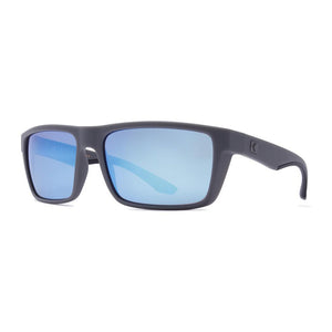 Rove Polarized Sunglasses - Surrender - Matte Crystal Grey/Smoke/Blue Mirrored