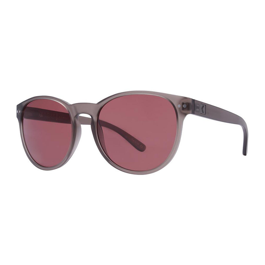 Rove Polarized Sunglasses - Nomad - Matte Crystal Grey/Rose