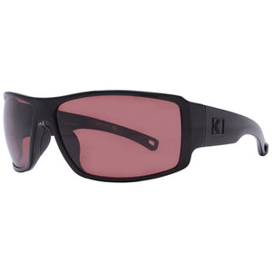 Rove Polarized Sunglasses - Captain - Gloss Black/Rose