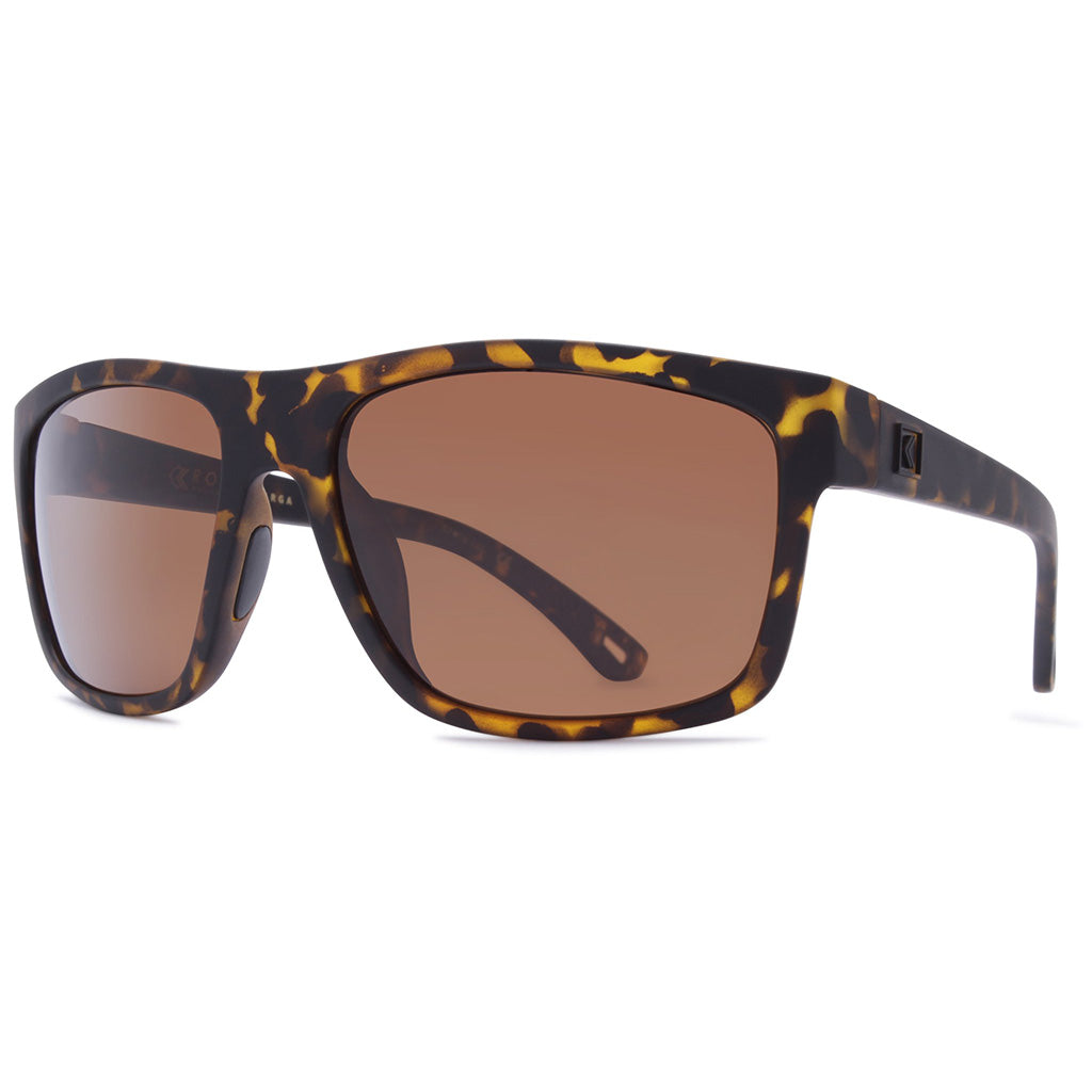 Rove Polarized Sunglasses - Targa - Matte Tortoise/Bronze - Seaside Surf Shop