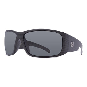 Rove Polarized Sunglasses - All Day - Matte Charcoal Wood/Smoke