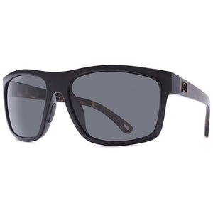 Rove Polarized Sunglasses - Targa - Gloss Black / Tort/Smoke