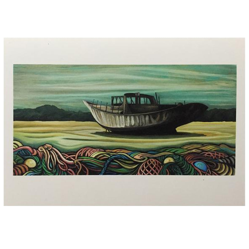 Lori LaBissoniere Prints  - 18x12 - Seaside Surf Shop