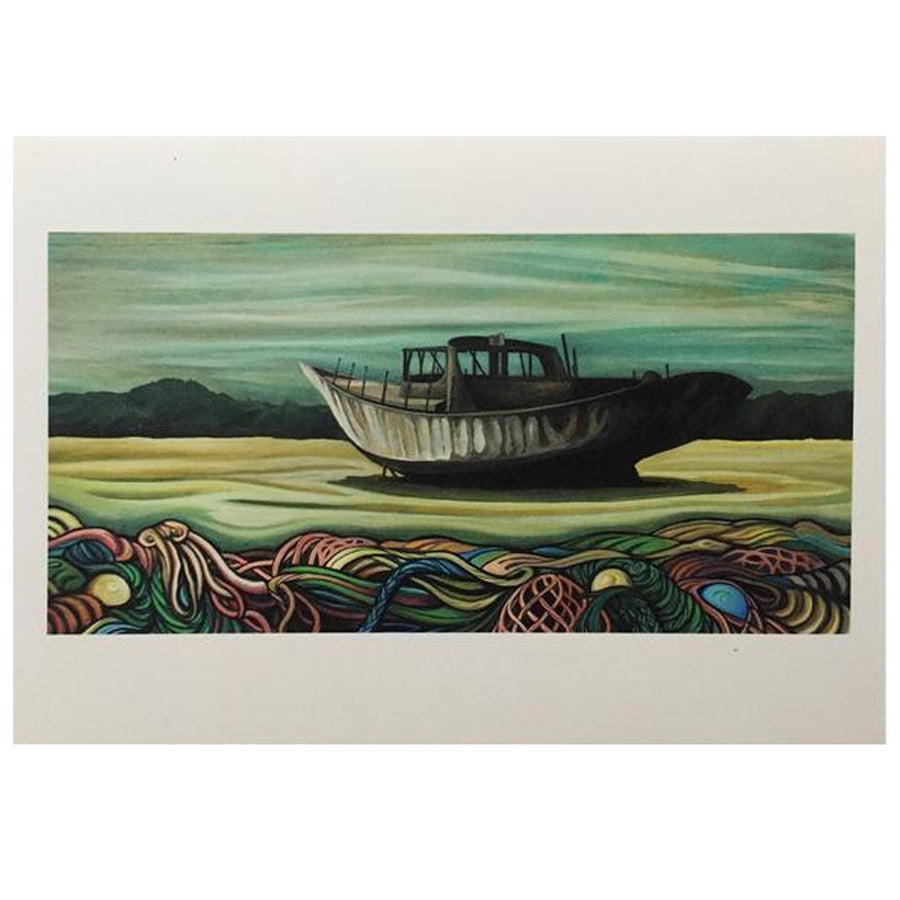 Lori LaBissoniere Prints - 18x12-Drift Awake-Seaside Surf Shop