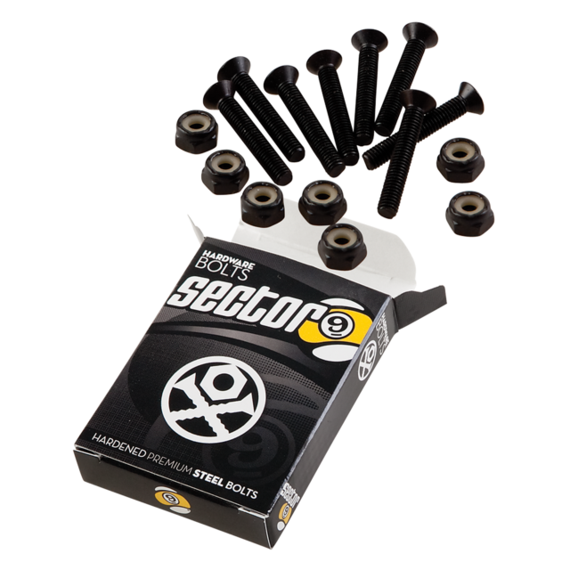 "Sector 9 Hardware 1.0"" Hardened Steel Bolts"