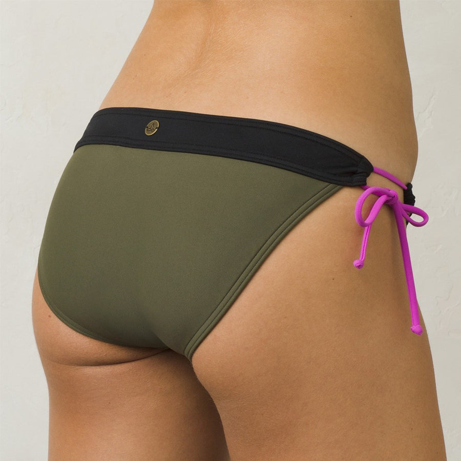 -Swimwear-PrAna Womens Saba Bottom - Cargo Green-Prana-Seaside Surf Shop