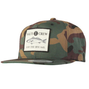 -Apparel Accessories-Salty Crew Mens Seabass Hat - Camo-Salty Crew-Seaside Surf Shop