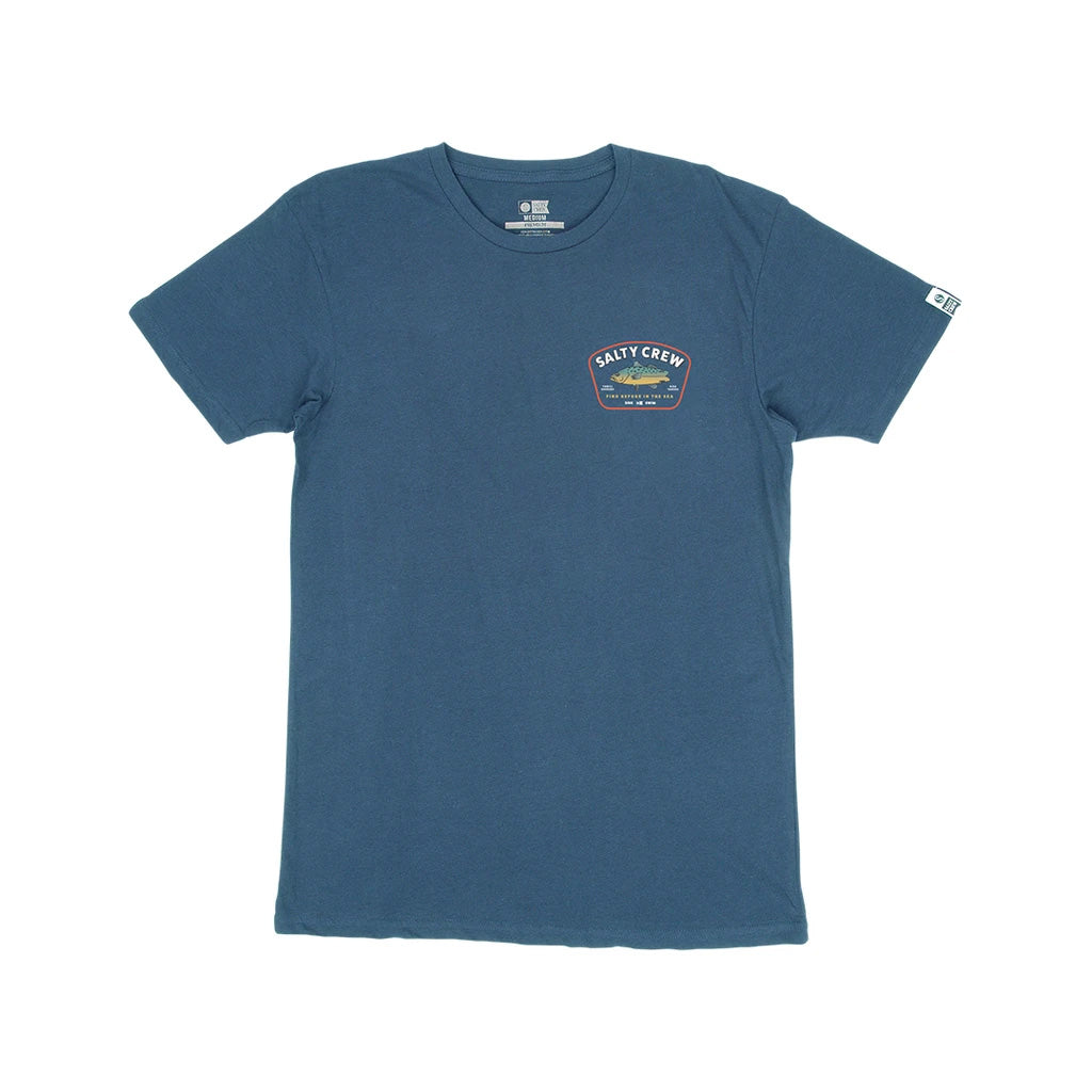 Salty Crew Mens Creature S/S Premium Tee - Harbor Blue - Seaside Surf Shop
