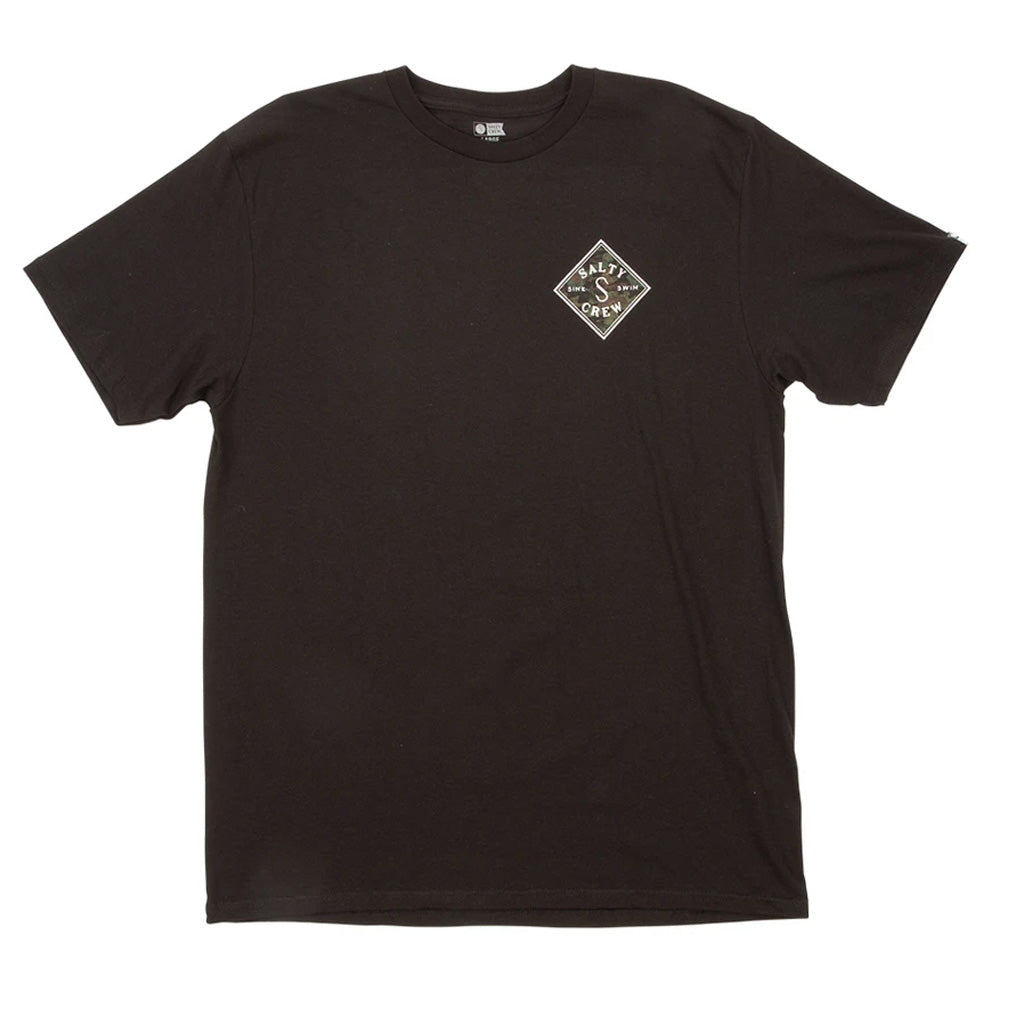 Salty Crew Mens Tippet Decoy S/S Tee - Black - Seaside Surf Shop
